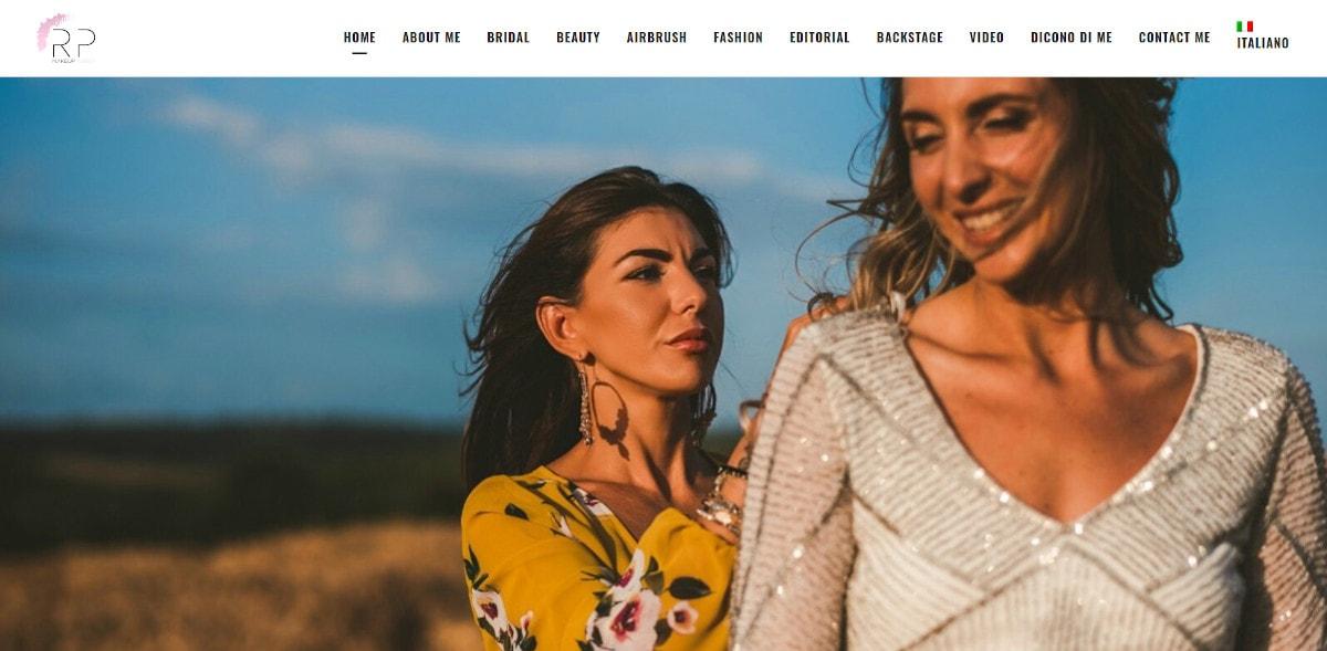 romina pashollari homepage