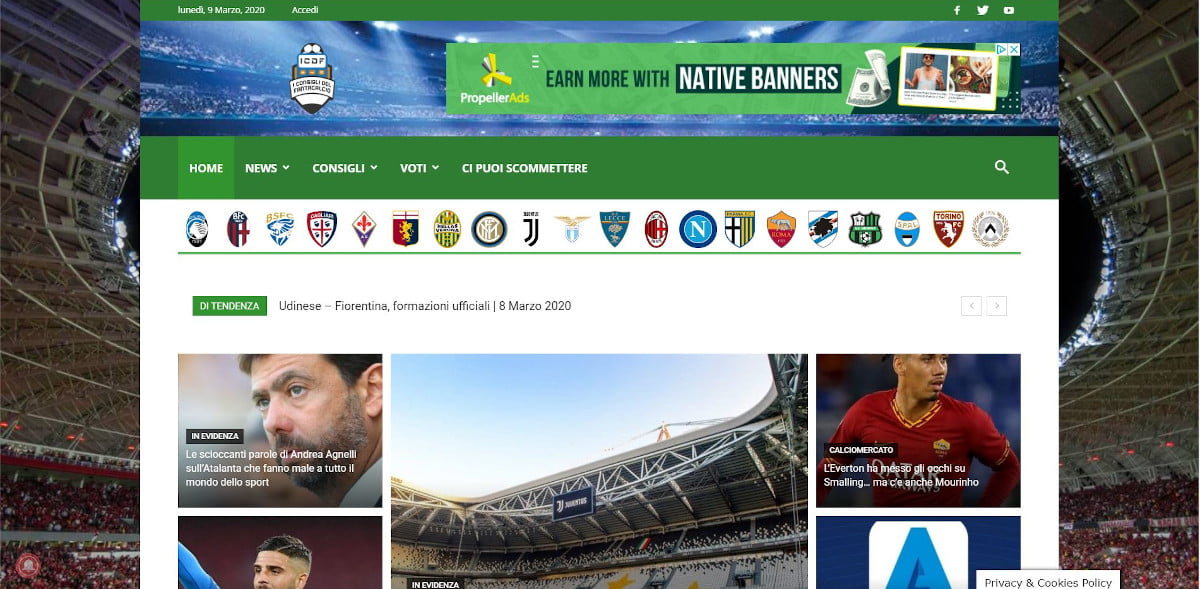 ICDF homepage